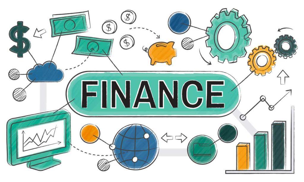 schéma évoquant la finance et le budget